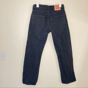 Levi's 501 Button Fly Denim Jeans